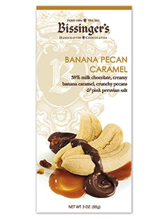 Bissinger's Banana Pecan Caramel Chocolate Bar