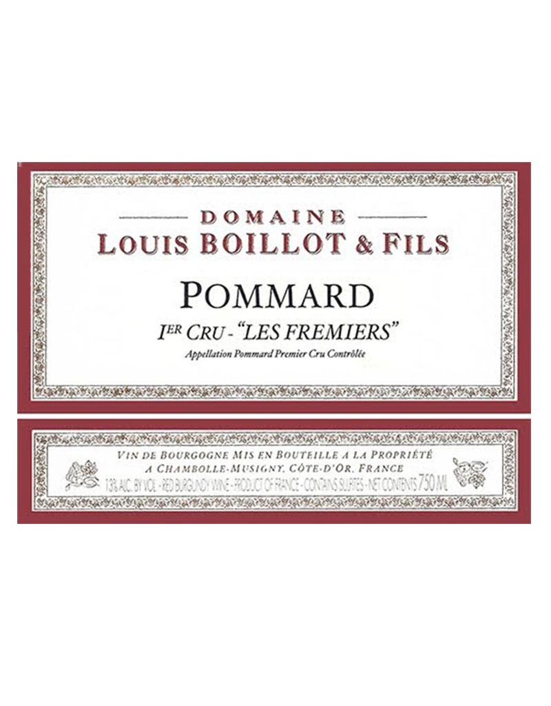 Domaine Louis Boillot 2017 Les Fremiers, Pommard Premier Cru, Burgundy, France