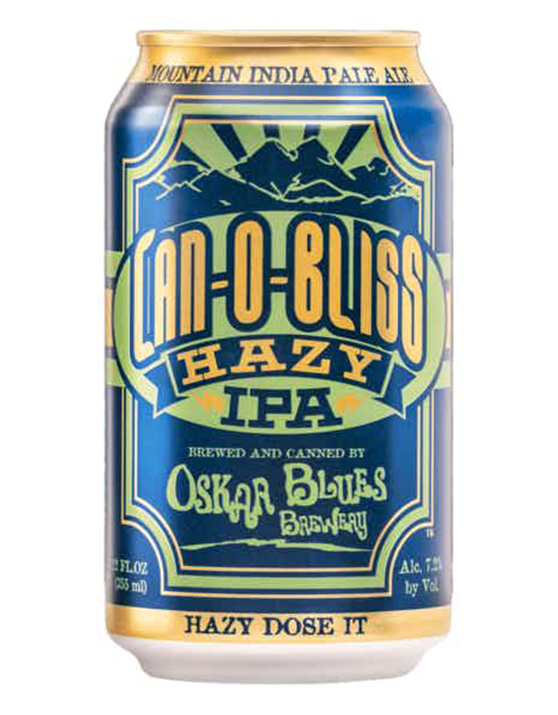 Oskar Blues Can-O-Bliss Hazy IPA Beer 6pk Cans