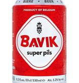 BAVIK Super Pilsner, Belgium, Beer 6pk Cans