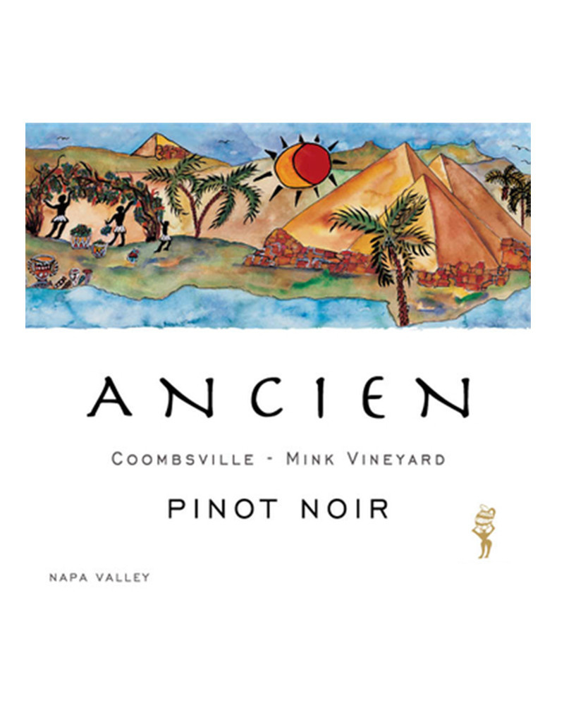Ancien Wines 2016 'Mink Vineyard' Pinot Noir, Coombsville, Napa Valley, California