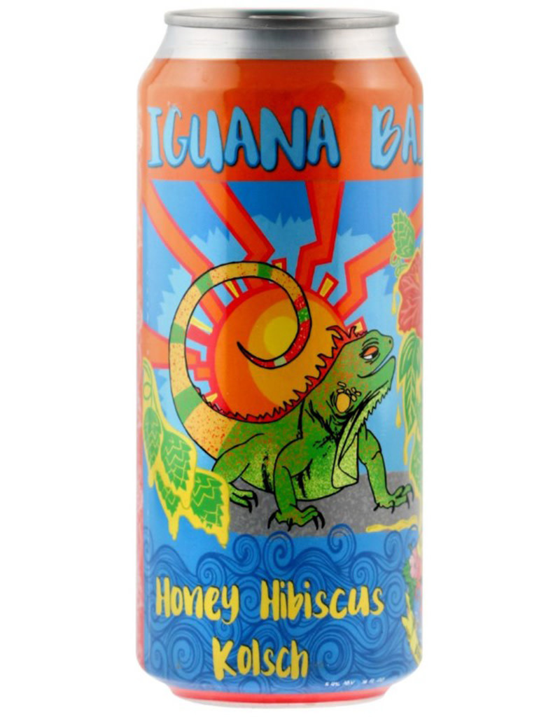 Florida Keys Brewing Co. Iguana Bait Honey Hibiscus Kölch 6pk Cans