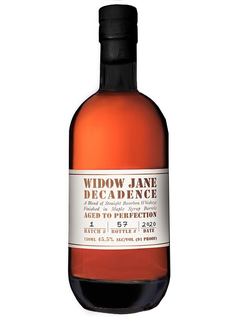 Widow Jane Decadence Straight Bourbon Whiskey, New York