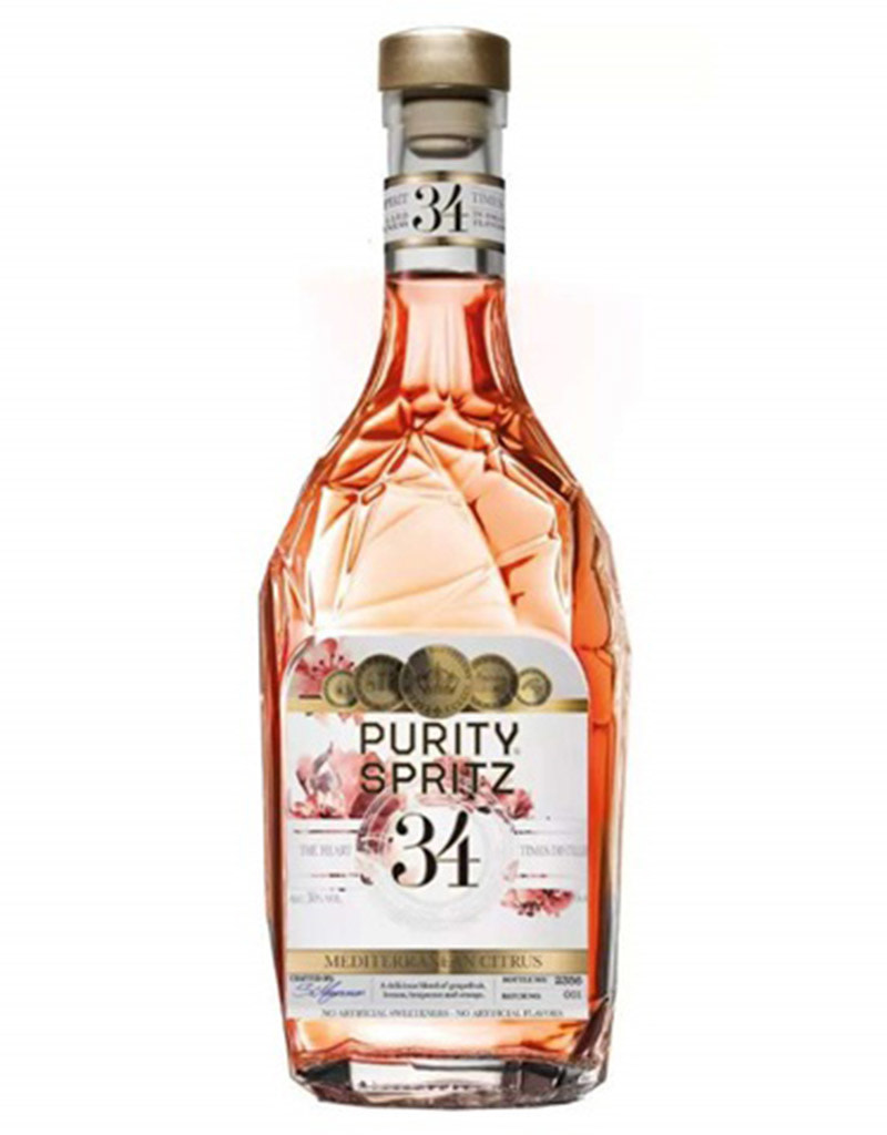 Purity 34 Rosé Vodka Spritz, Sweden