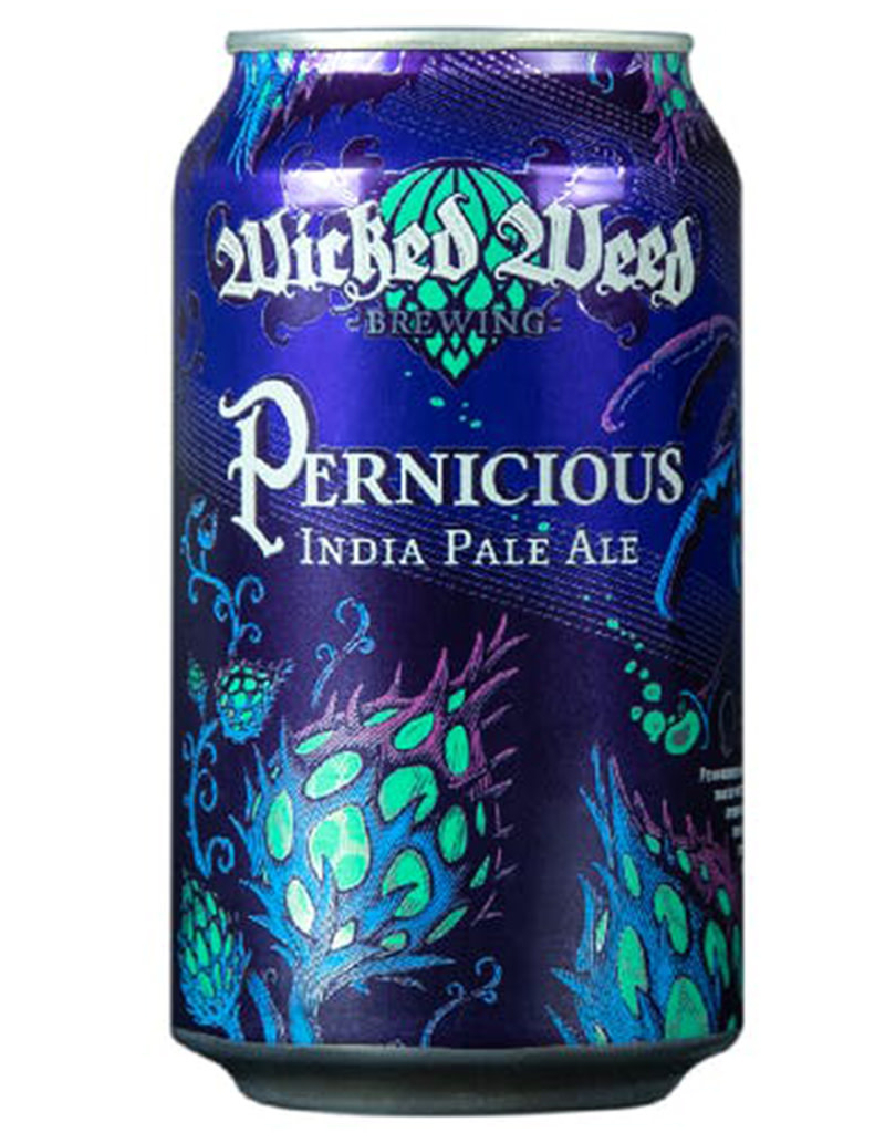 Wicked Weed Pernicious IPA, 6pk Cans