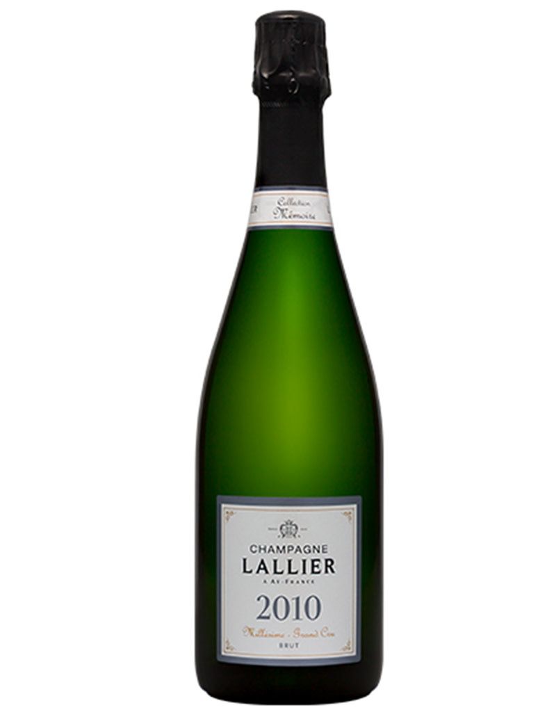 Champagne Lallier 2010 Grand Cru 'Collection Mémoire' Brut Millésime, Champagne, France