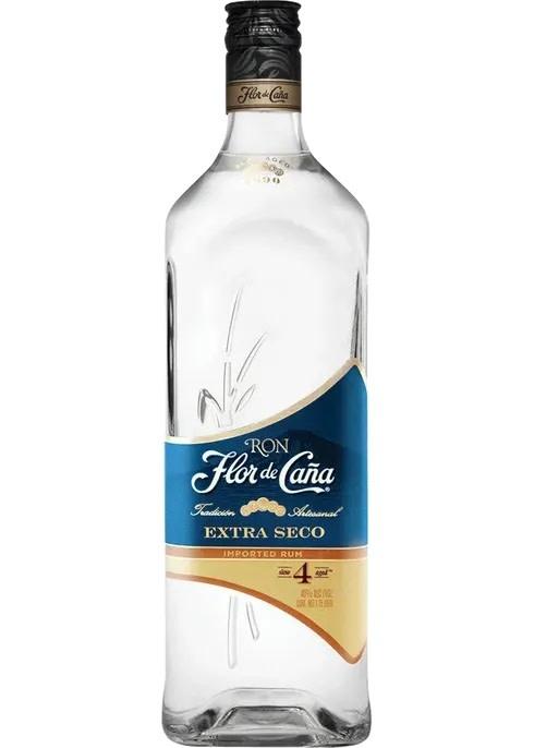 Flor de Cana Flor de Caña 4 Year Extra Seco White Rum, Nicaragua