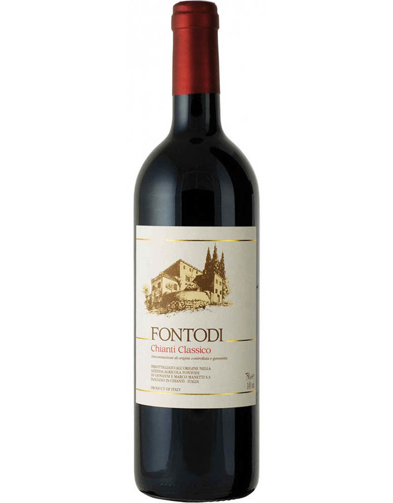 Fontodi Vineyards Fontodi 2015 Chianti Classico DOCG, Tuscany, Italy 375mL [Organic]