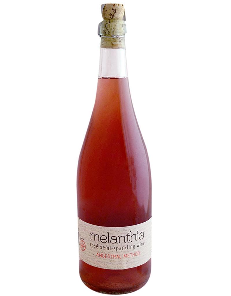 Papras 2019 'Melanthia' Ancestral Method Semi Sparkling Rosé PGI Tyrnavos, Thessalia, Greece
