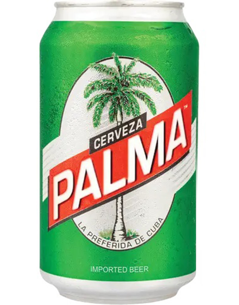 Cerveza Palma, Lager Beer, Cuba 6pk Cans
