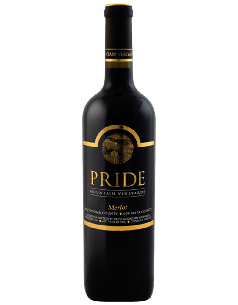 Pride Mountain Vineyards 2018 Merlot, Napa Valley, California