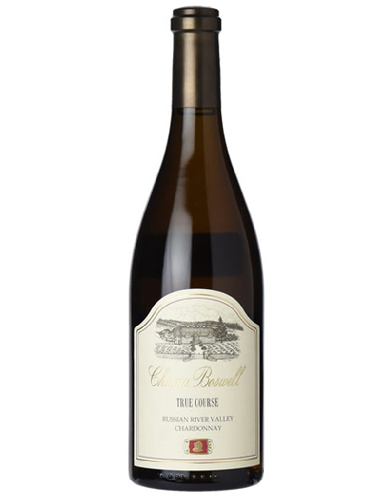 Château Boswell 2015 True Course Chardonnay, Russian River Valley, California