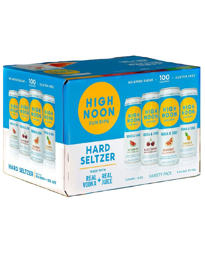 High Noon Hard Seltzer Variety 12pk Cans