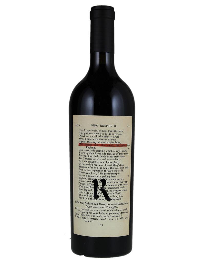 Realm Cellars REALM 2018 'The Bard' Red Blend, Napa Valley, California