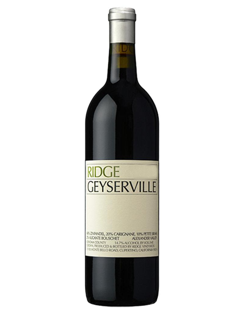 RIDGE Vineyards 2018 Geyserville, Alexander Valley, California