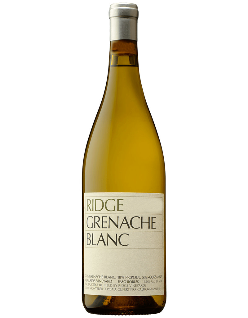 RIDGE Vineyards 2019 Grenache Blanc, Paso Robles, California