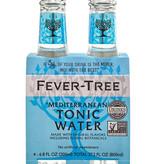 Fever Tree Mediterranean Tonic Water 200mL, 4pk