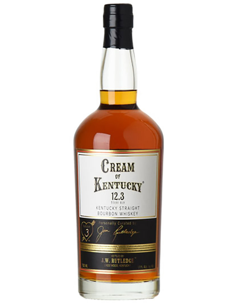 J. W. Rutledge Cream of Kentucky Straight Bourbon Whiskey, Kentucky