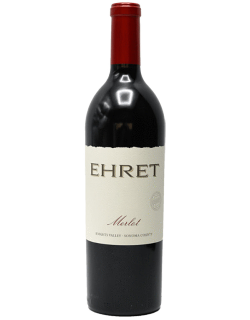 Ehret Family Winery 2015 Merlot, Knights Valley, California