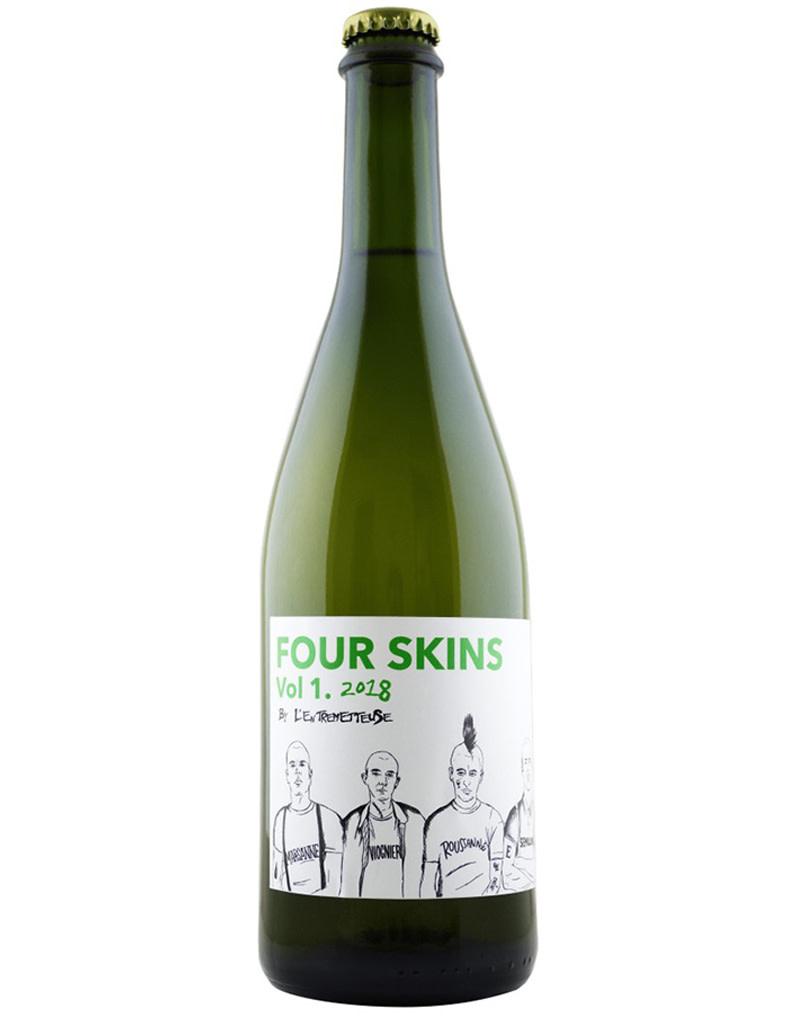 Four Skins Vol 2. by L'Entremetteuse 2019 white blend, Colchagua, Chile [Orange]