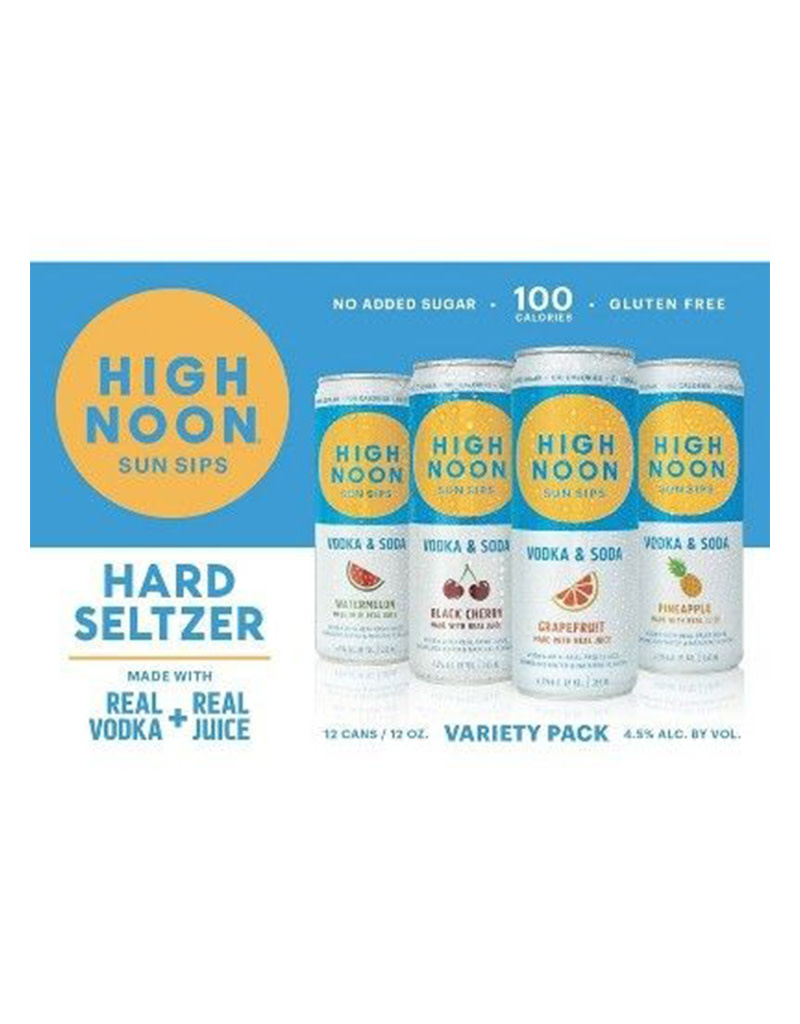 High Noon Hard Seltzer Variety 8pk Cans