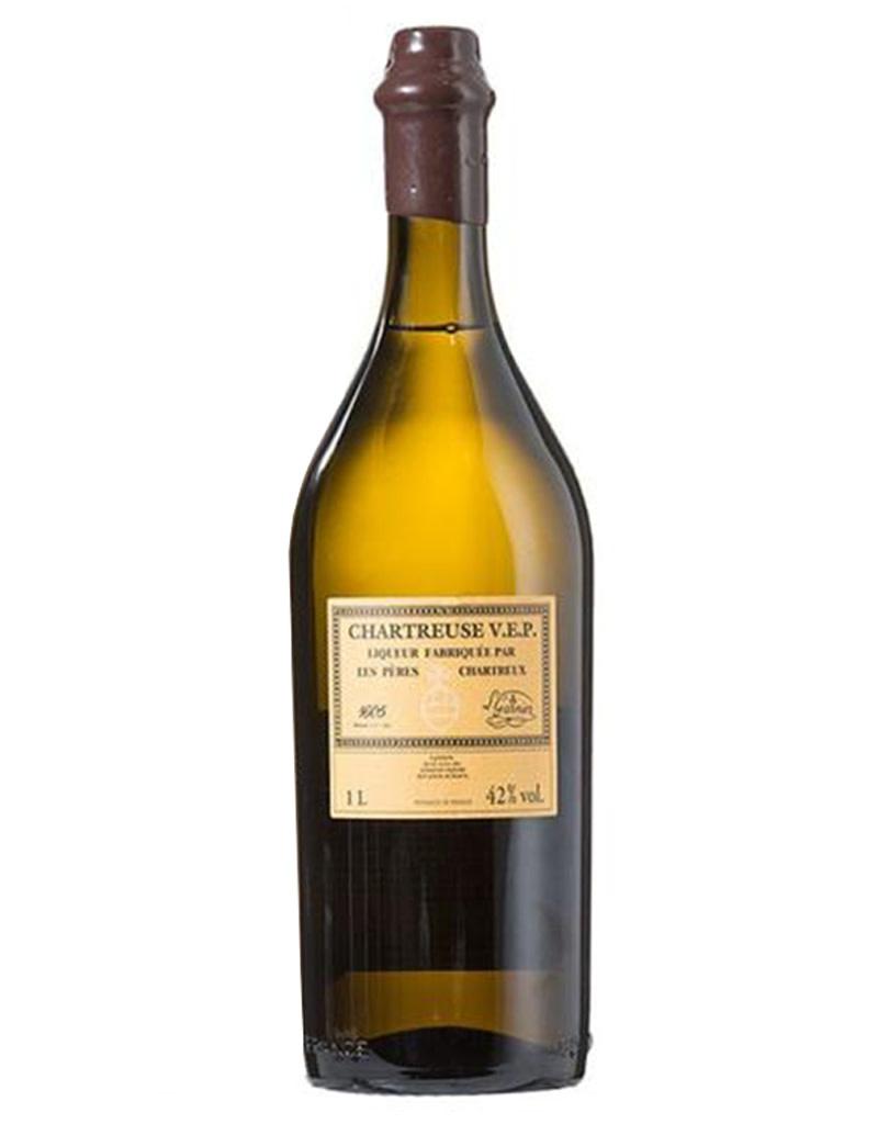 Chartreuse V.E.P. Jaune Yellow Liqueur, Isere, France 1L
