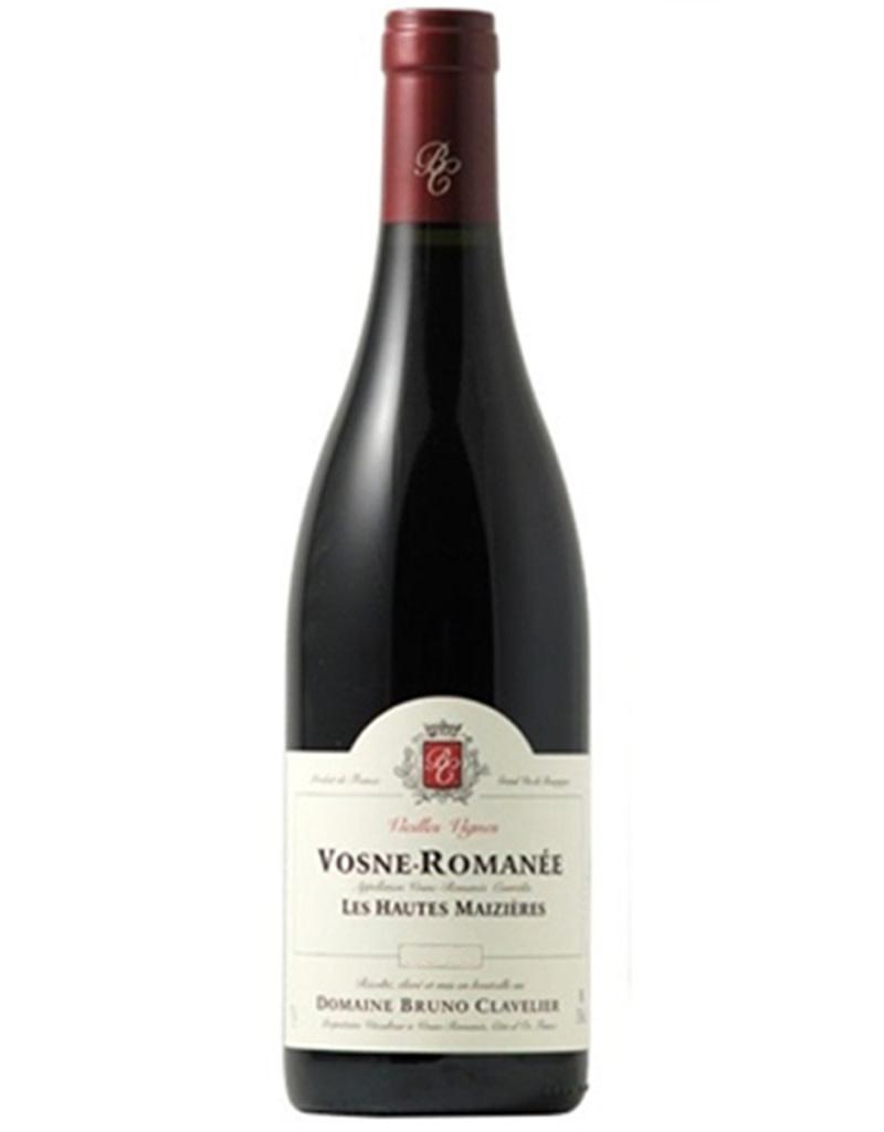 Domaine Bruno Clavelier 2017 Vosne-Romanée, Les Hautes Maizières, Vieilles Vignes, Côte de Nuits, Burgundy, France
