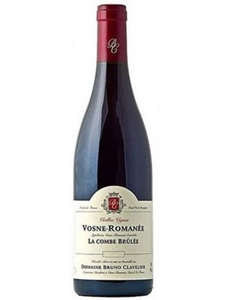 Domaine Bruno Clavelier 2017 Vosne-Romanée La Combe Brûlée Vieilles Vignes, Côte de Nuits, Burgundy, France