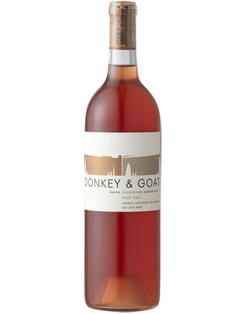 Donkey and Goat 2019 Filigreen Farm Pinot Gris Rosé, El Dorado, Anderson Valley, California