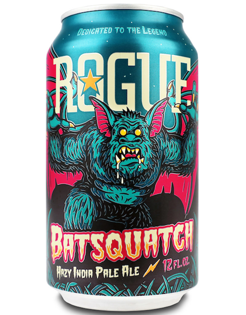 ROGUE Batsquatch Hazy IPA, Oregon 6pk Cans