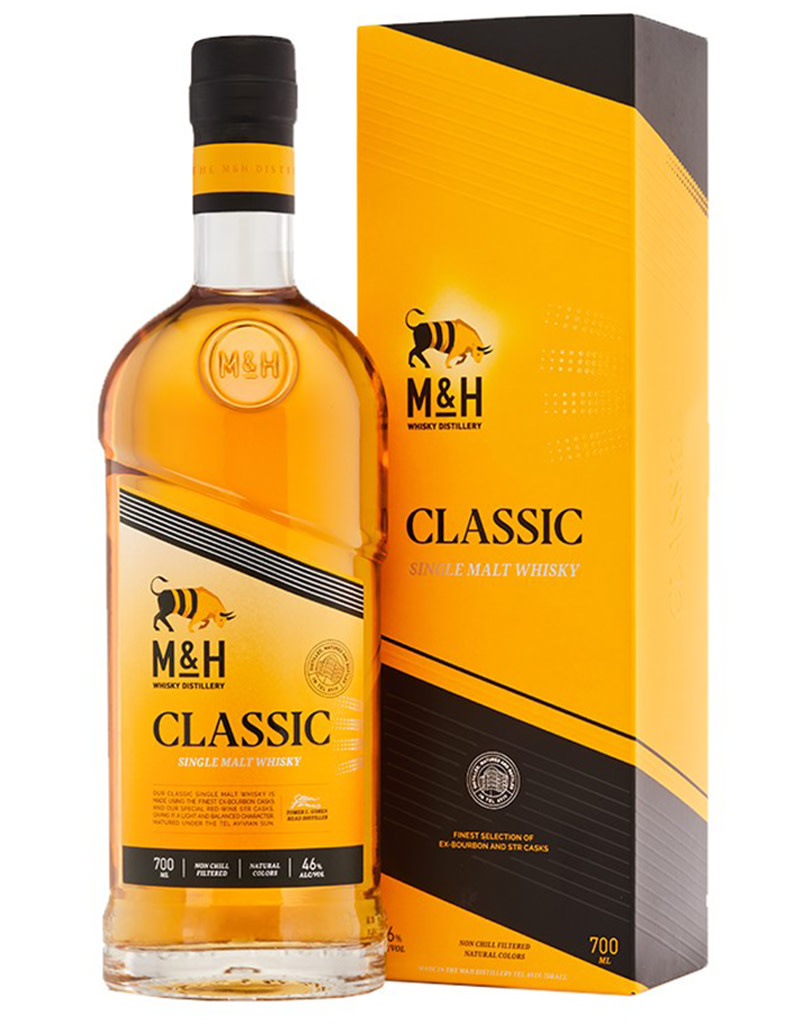 The Milk & Honey Distillery Classic Single Malt Whisky, Tel Aviv, Israel