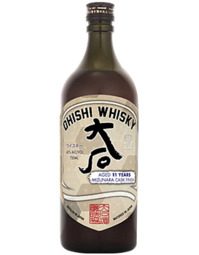 Ohishi 11 Year Old Mizunara Cask Finish Whisky, Japan