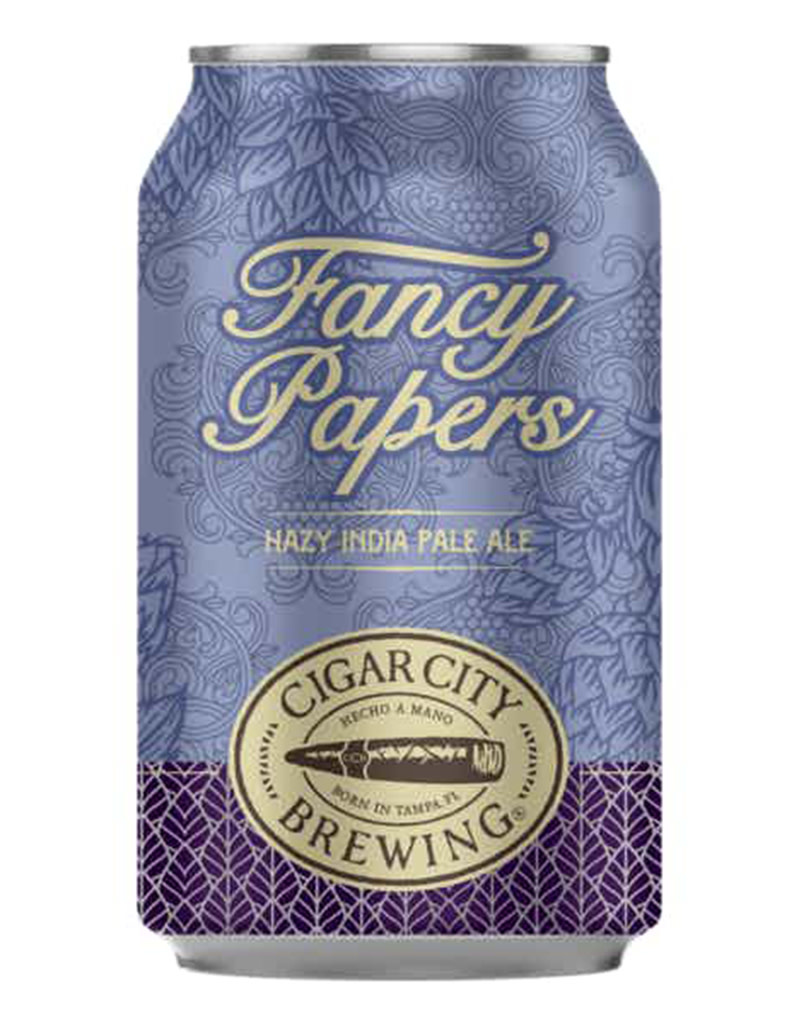 Cigar City Brewing Co. Fancy Papers Hazy IPA 6pk Beer Cans