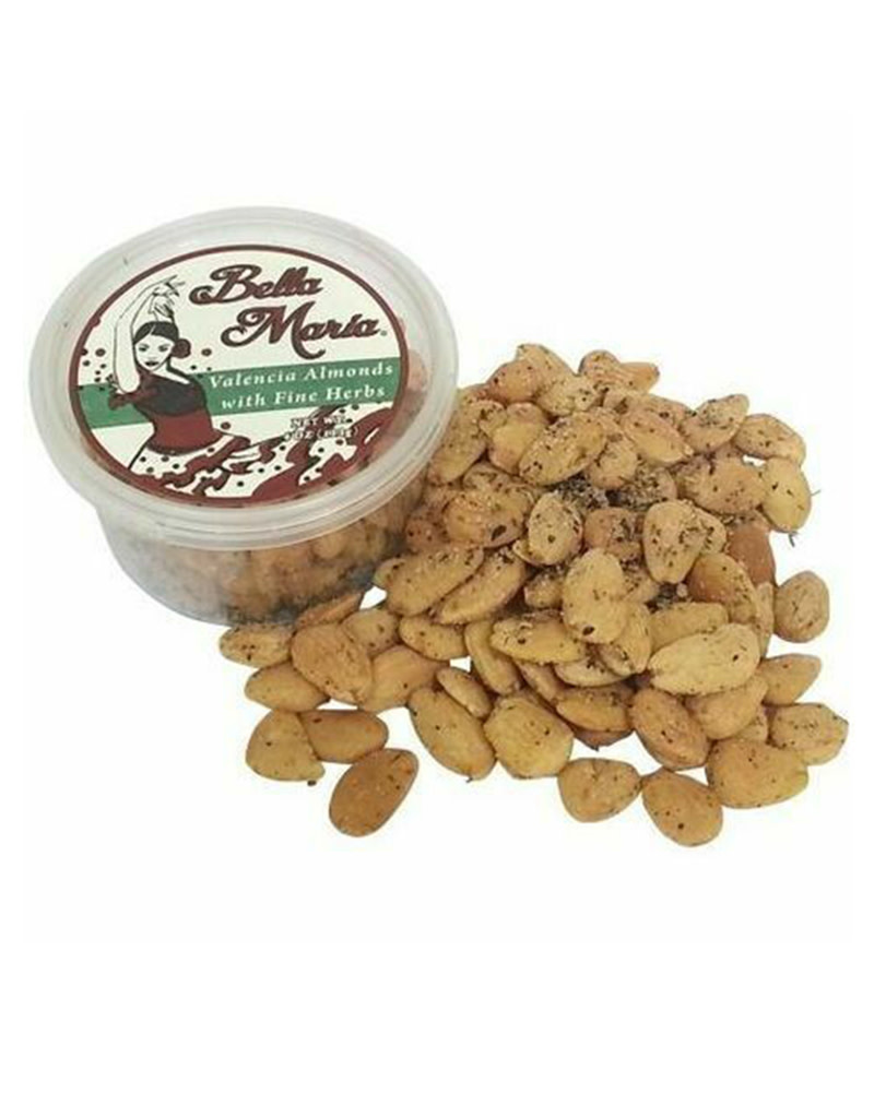 Bella Maria Valencia Almonds w/ Fine Herbs,  Spain 4oz