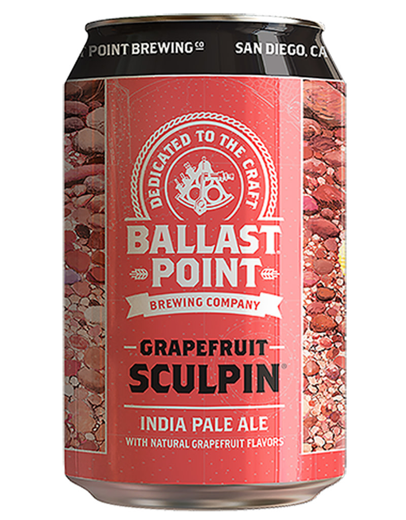 Ballast Point Brewing Company Ballast Point Grapefruit Sculpin IPA, 6pk Cans