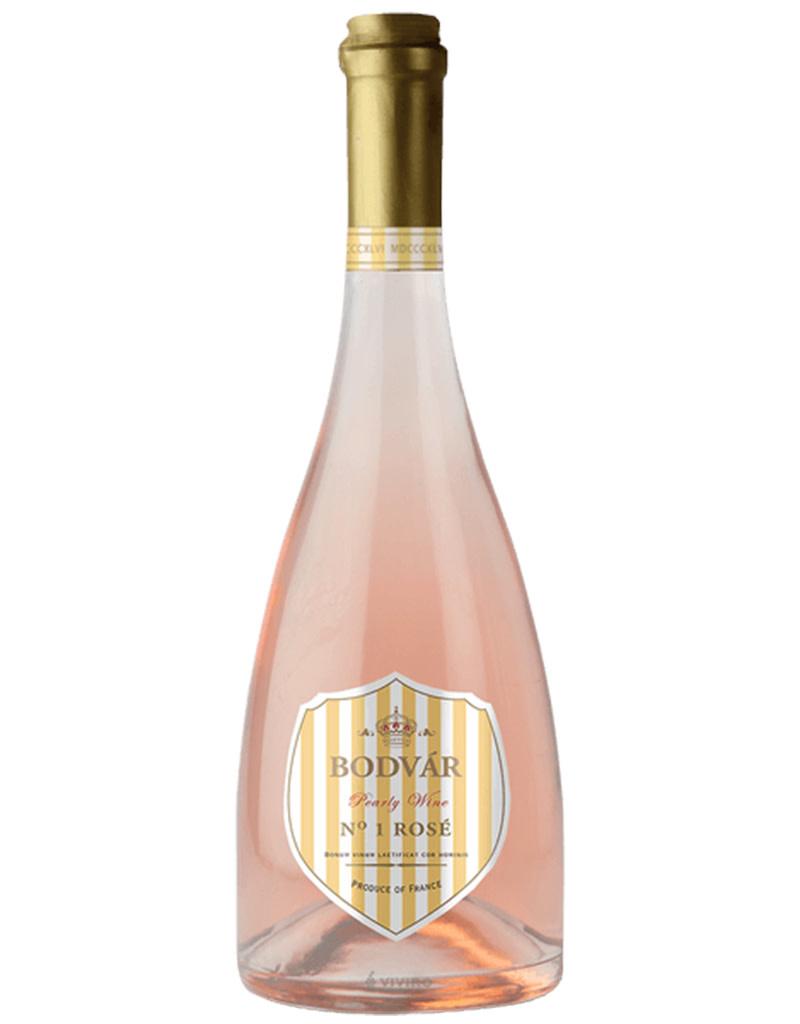 Bodvar 2019 Pearly No. 1 Rosé, Semi-Sparkling, Languedoc Roussillon, Vin de France