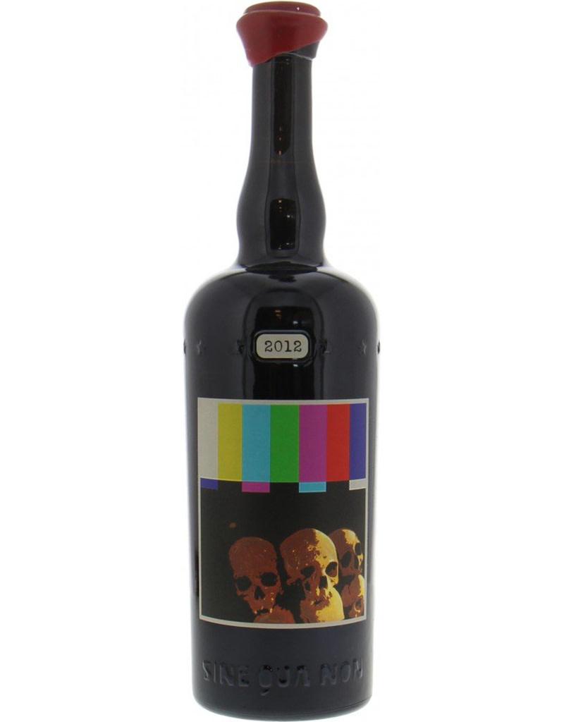 Sine Qua Non [SQN] 2012 'Touche' Syrah,  Eleven Confessions Vineyard,  Sta. Rita Hill, California