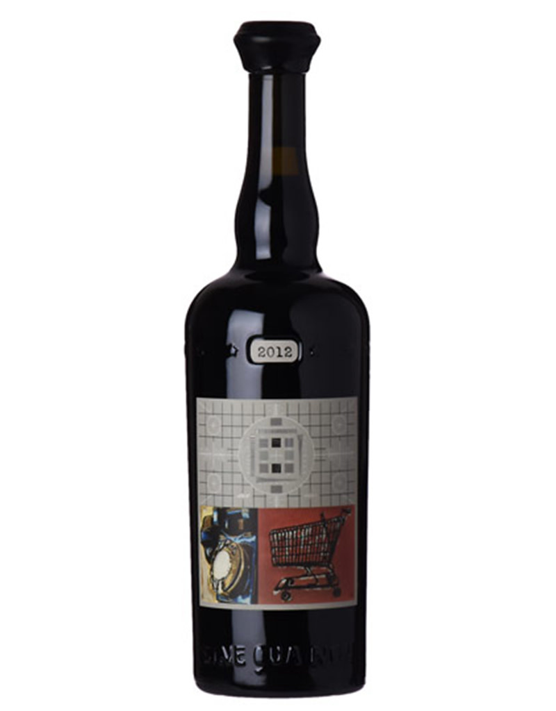 Sine Qua Non [SQN] 2012 'Rattrapante' Grenache,  Eleven Confessions Vineyard,  Sta. Rita Hill, California