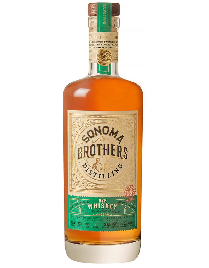 Sonoma Brothers Distilling Rye Whiskey, California