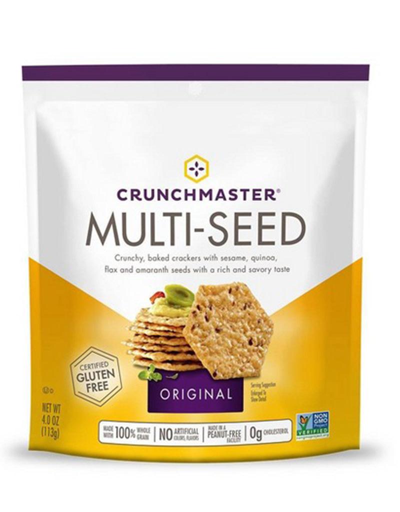 Crunchmaster Multi-Seed Crackers 4oz. [gluten free, No GMO]