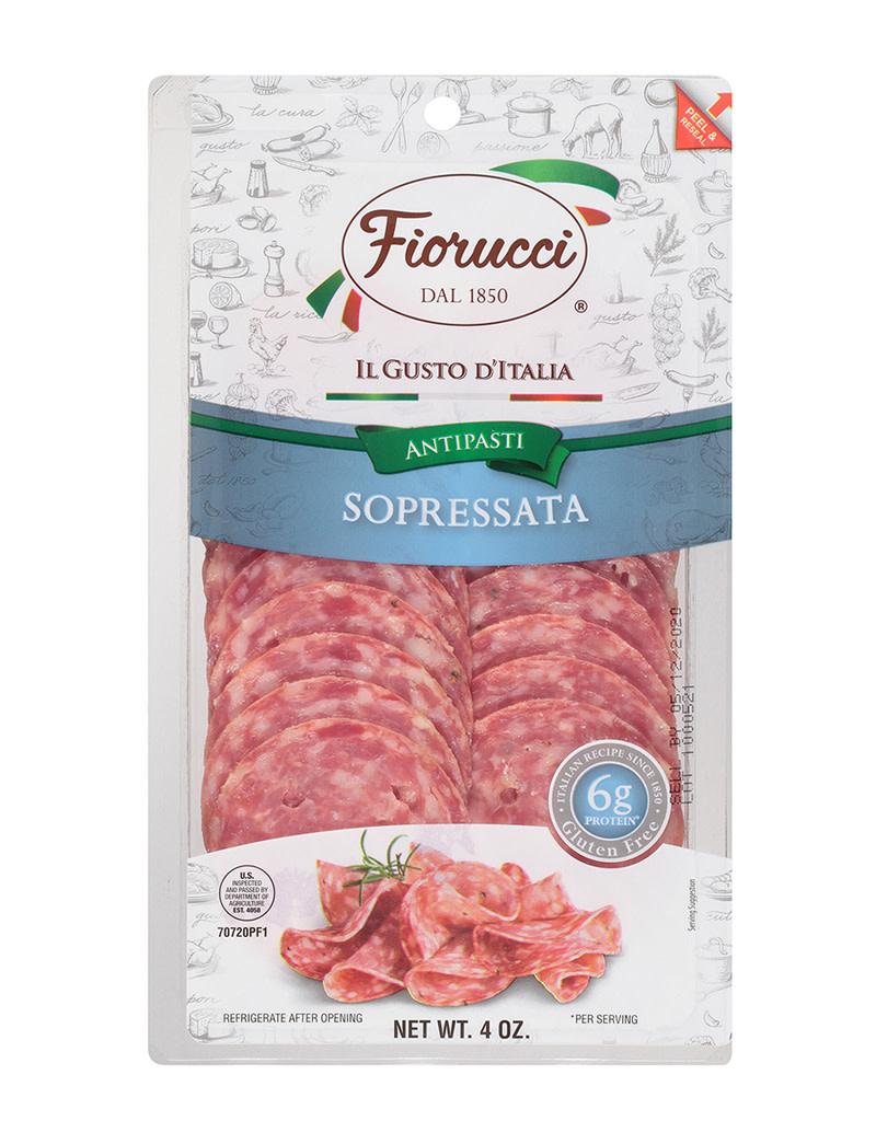 Fiorucci Sopressata. 4oz [gluten free]