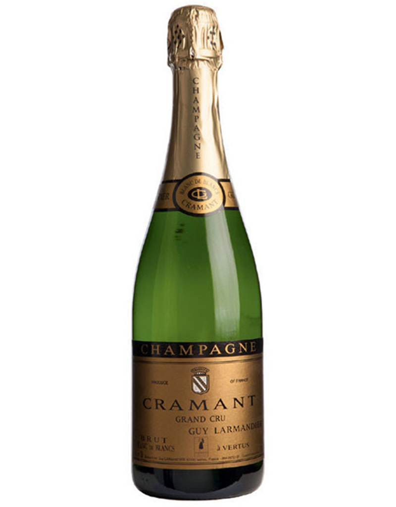 Guy Larmandier Cramant Grand Cru Blanc de Blancs Brut Zero Champagne, France
