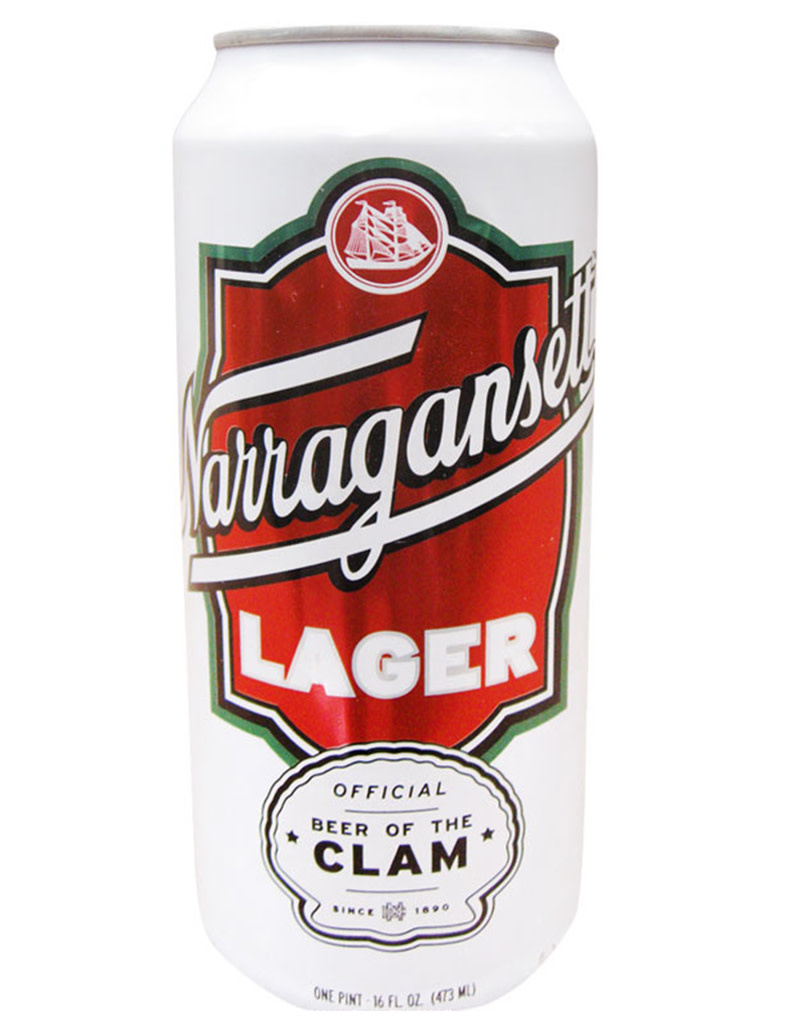 Narragansett Lager, Rhode Island, 16oz Single Can