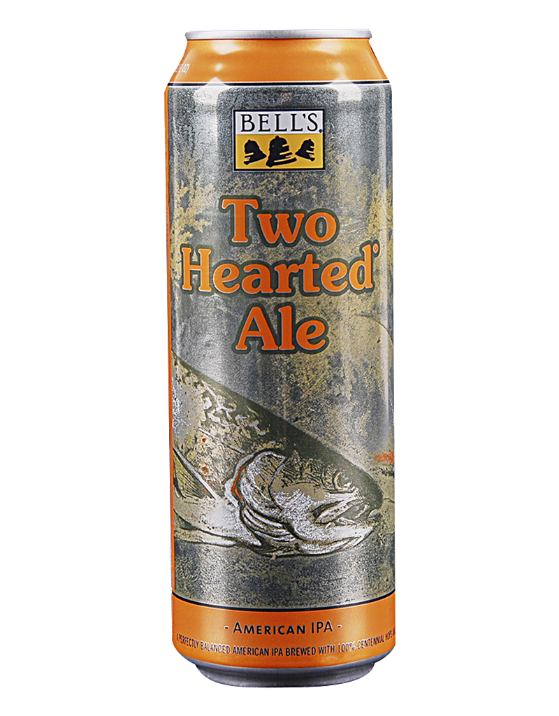 Bell's Brewery Bell's Brewery Two Hearted Ale 19.2oz Beer, Single Cans