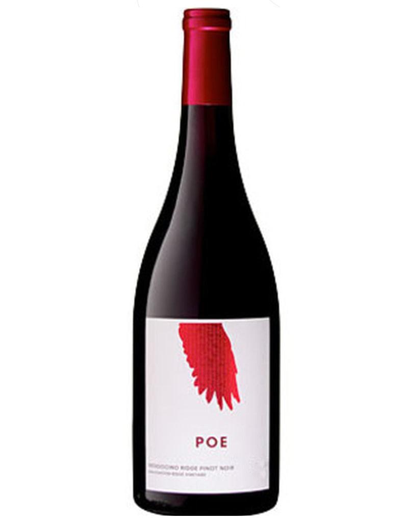 Poe Wines 2018 Manchester Ridge Vineyard, Pinot Noir, Mendocino, California