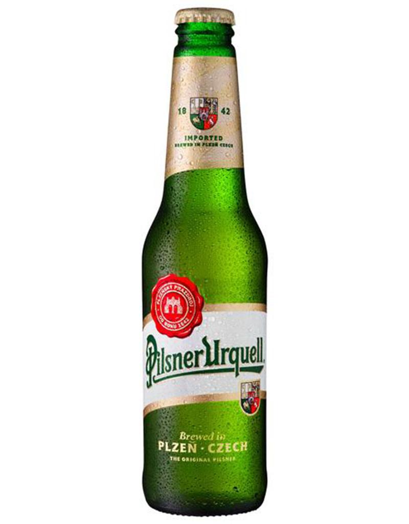 Pilsner Urquell Lager, Czech Republic 6pk Bottles