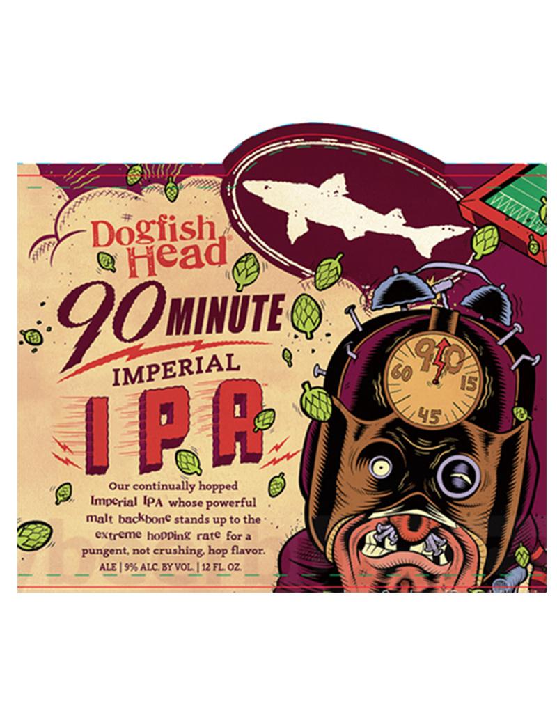 Dogfish Head 90 Minute IPA, 6pk Bottle