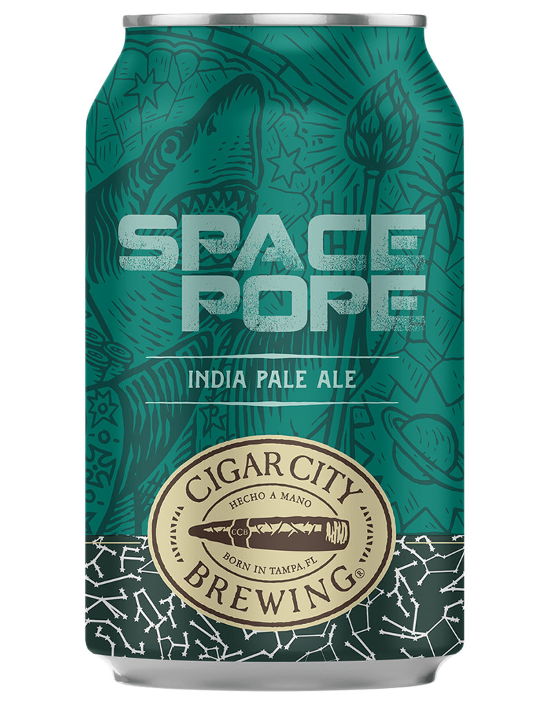 Cigar City Brewing Space Pope IPA 6pk Beer Cans