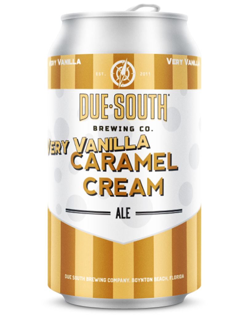 Due South Brewery Due South Very Vanilla Caramel Cream Ale, 4pk Cans