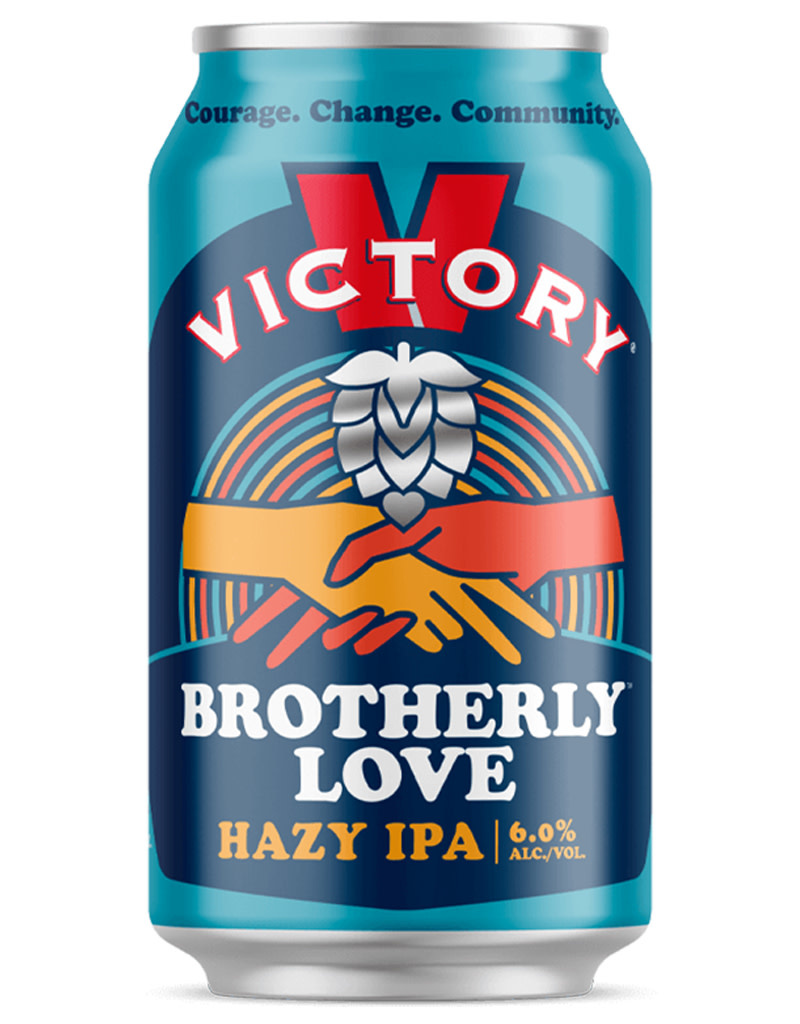 Victory Brewing Company Victory Brewing Co. Brotherly Love Hazy IPA, 6pk Cans